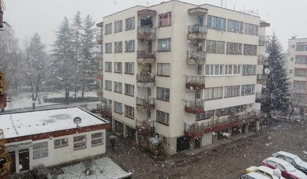Rogatica-snijeg u aprilu 2