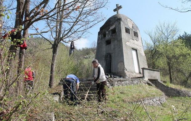 Uredjenje kapele u Vardistu