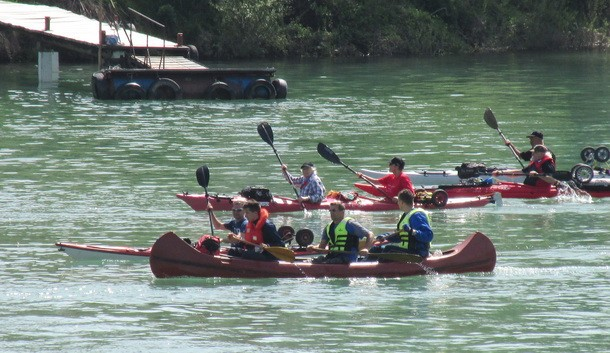 Kajak regata u Visegradu