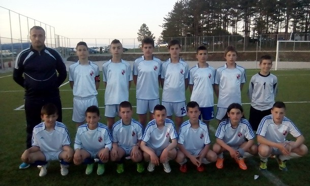 Mladi fudbaleri iz Roge