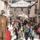 Turisti u Andricgradu