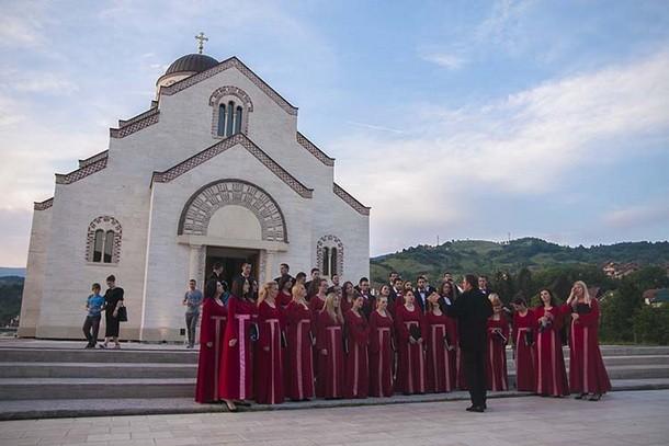 Crkveni hor u Andricgradu