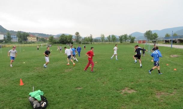 FK Mladost trening