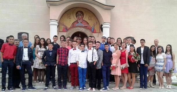 Mali maturanti u Cajnicu 3
