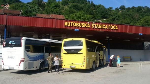 autobuska stanica Foca