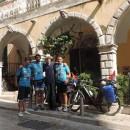 Biciklisti na Krfu