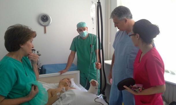 Operacija tumora u Foci