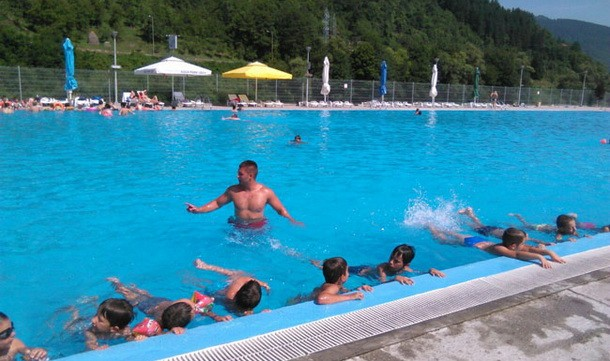 Skola plivanja u Foci