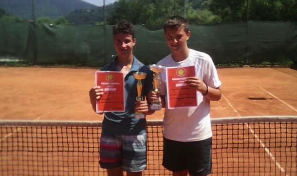Stefan Andric tenis u Foci