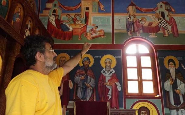 Freske u Dobrunskoj Rijeci