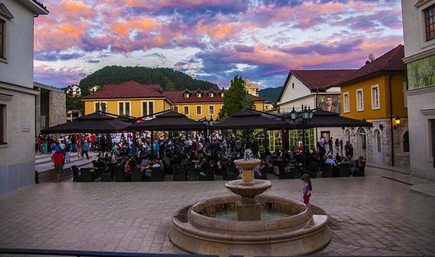 Andricgrad Trg