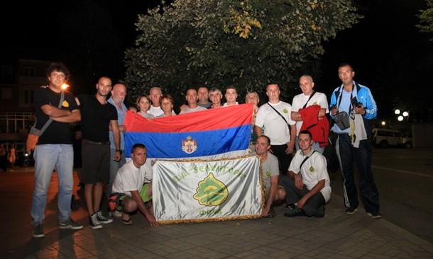 Planinari iz Foce na Olimp