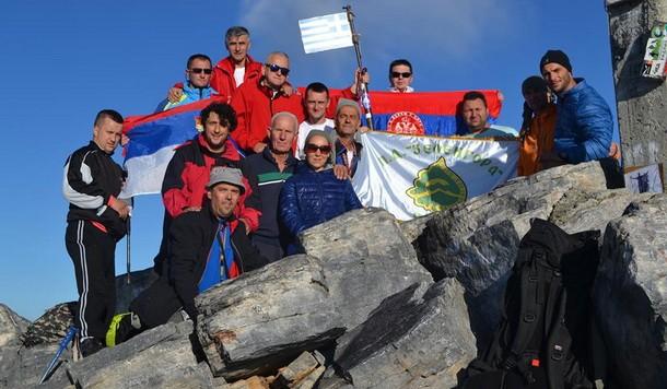 Planinari iz Foce na Olimpu