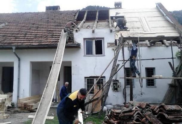 Obnova starog crkvenog zdanja