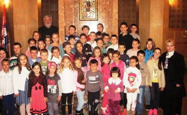 Djeciji hor u Cajnicu