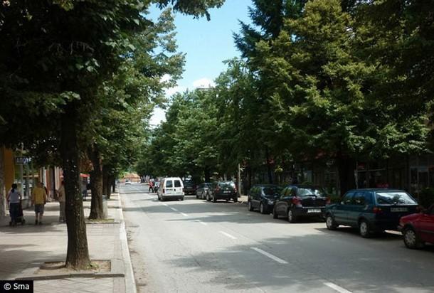 Glavna ulica u Foci