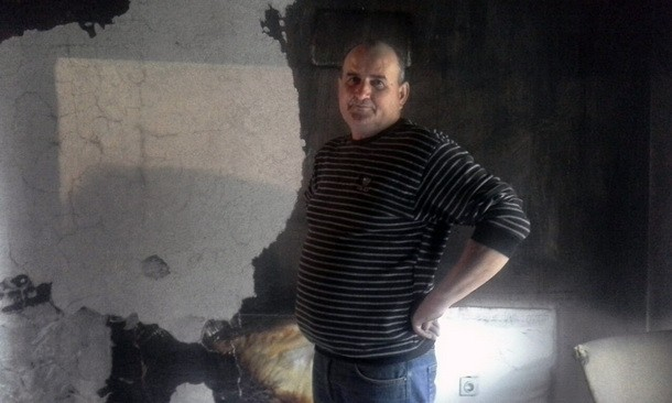 Izgori stan u Foci