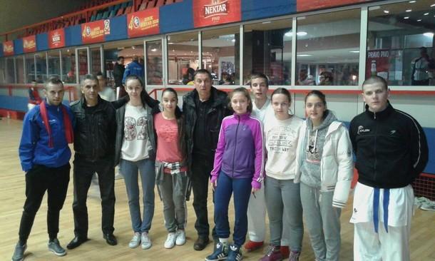 Mladi karatisti Drine