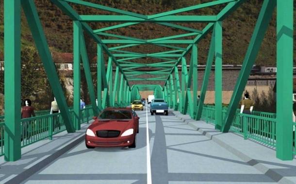 Novi most u Foci