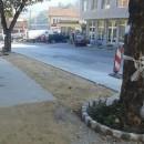 Sanacija trotoara u Foci