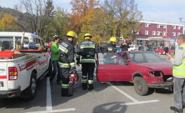 Vatrogasci na trgu