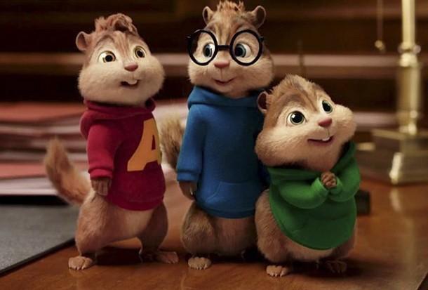 Alvin i vjeverice