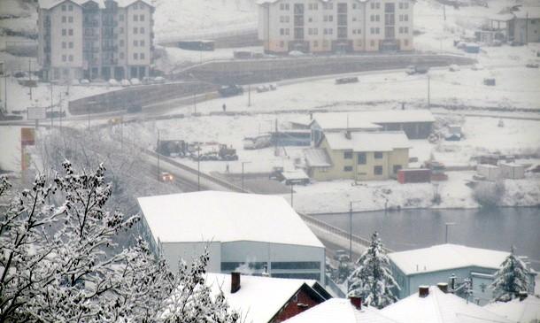 Snijeg u Visegradu