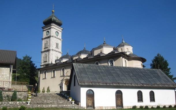 Crkva hram u Cajnicu