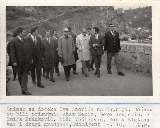Ivo Andric u Visegradu 2