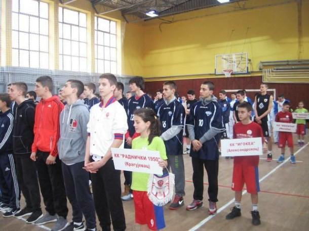 Kosarkaski turnir u Cajnicu (1)