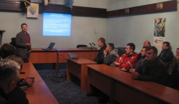 predavanja poljoprivrednicima u Cajnicu
