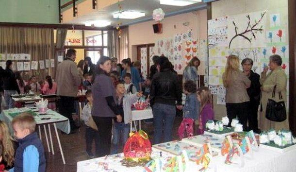 Izlozba djece u Cajnicu