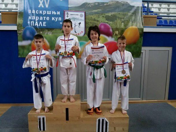 Mladi karatisti iz Visegrada