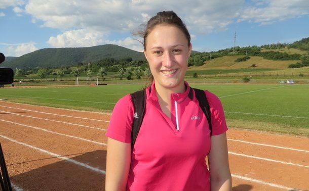 Milica Vukadinovic,novi rekorder MOSI