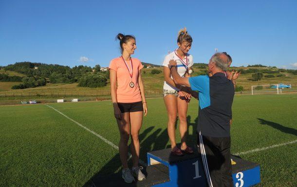 Rogatica-Tanja Markovic prima medalju