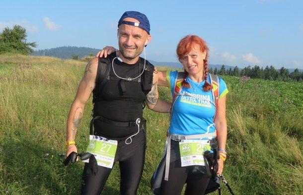 Zeljko i Ljiljana na Jahorina Ultra Trail u Sjeversku