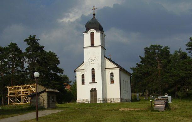 Crkva Svetih apostola Petra i Pavla na Borikama
